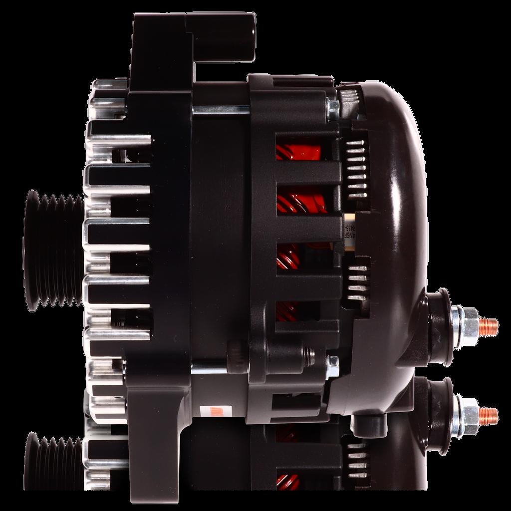 E Series Billet 370A alt - Fits 6/12 CS144 - Black finish