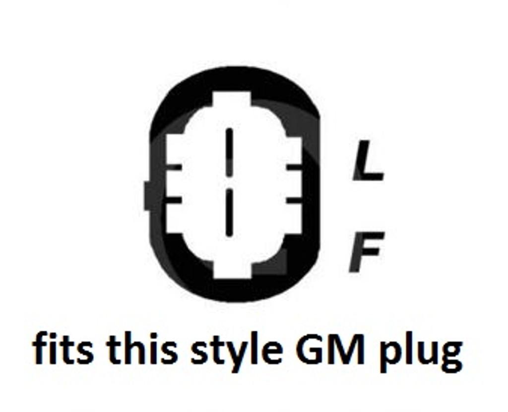 E Series 370 amp Black Billet for 2 pin GM truck