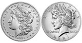 Everything You Need to Know About the New 2021 Morgan and Peace Silver Dollars