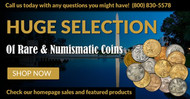 Buy Rare Coins Online at LCRCoin.com