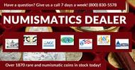 Numismatics Dealer