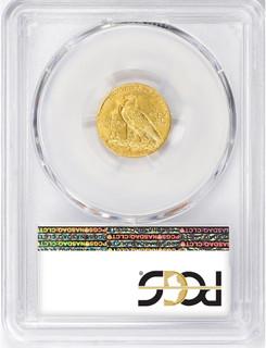 1914-D $2.50 Indian Gold Quarter Eagle PCGS MS63