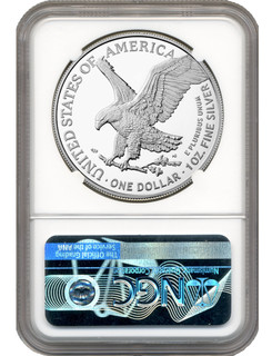 2021 Type 2 American Silver Eagle NGC MS69