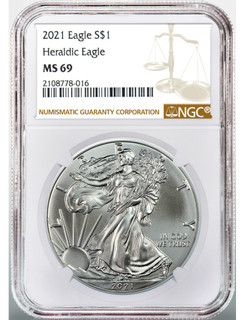 1986-2021 American Silver Eagle 37-pc Set NGC MS69 (2 New NGC Boxes)