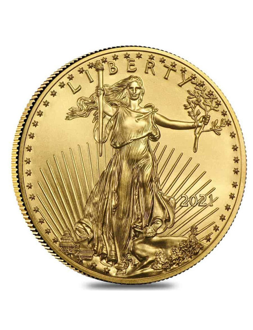2021 1 oz Type I American Gold Eagle Coin
