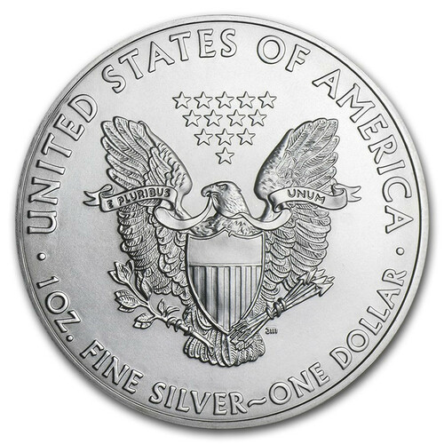 2011 1 oz American .999 Silver Eagle Coin