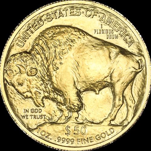 1 oz. American Gold Buffalo Random Date BU