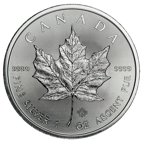 1 oz Canadian Silver Maple Leaf