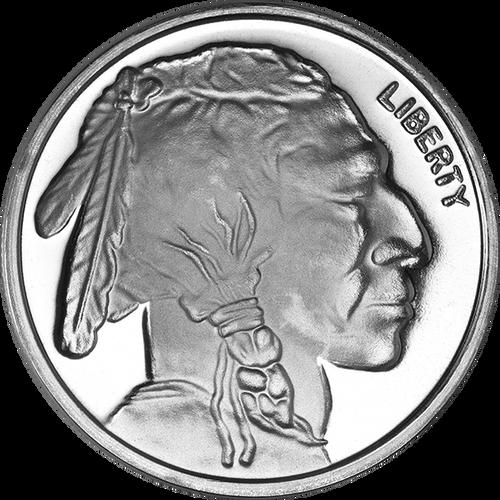 1 oz Silver Round Buffalo