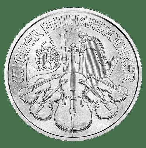 1 oz Austrian Silver Philharmonic