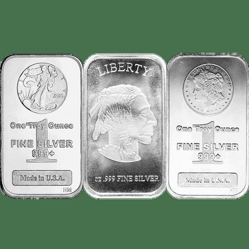 1 oz Silver Bar .9995