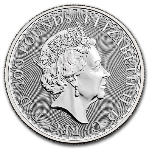 2021 1 oz British Platinum Britannia Coin