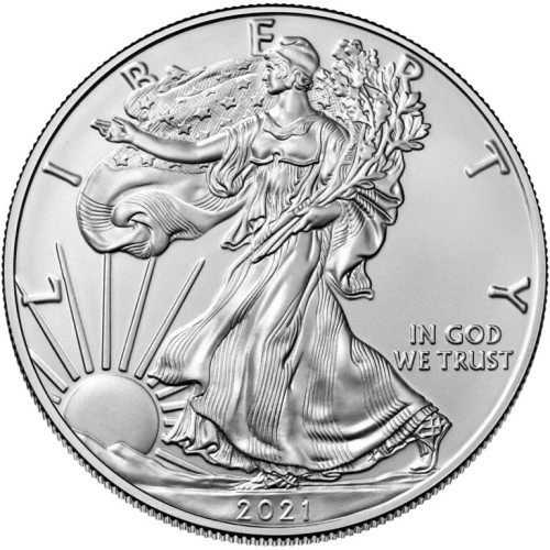2021 1 oz American .999 Silver Eagle Coin