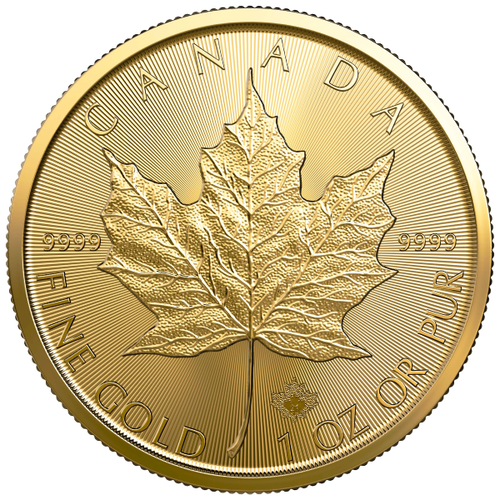2021 1 OZ CANADIAN GOLD MAPLE LEAF