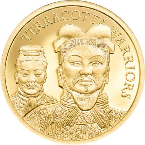 2021 1/2 GRAM GOLD TERRACOTTA WARRIORS