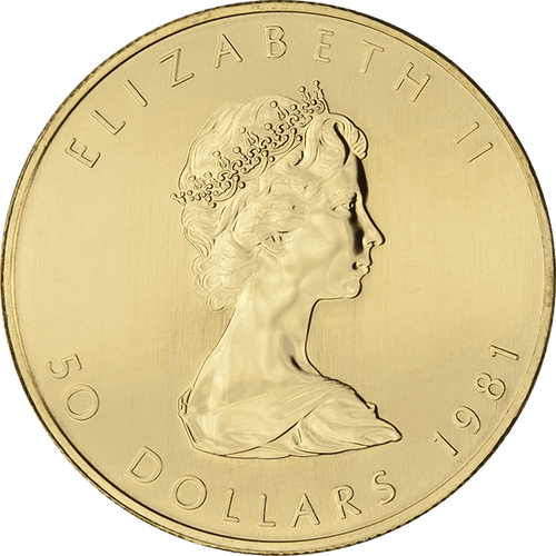 1 OZ CANADIAN GOLD MAPLE LEAF