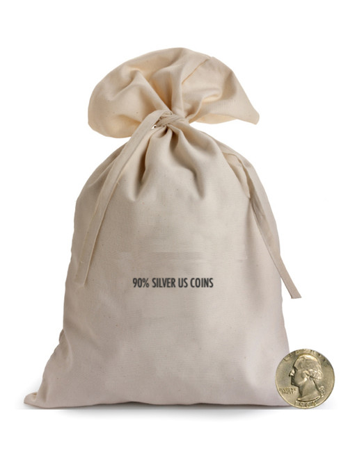 90% Silver Bag Washington Quarters $1000 Face