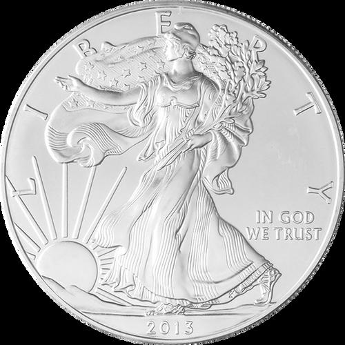 1 oz American Silver Eagle BU Random Year
