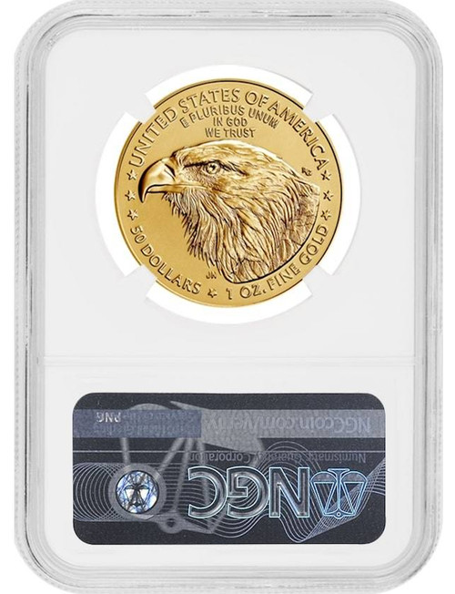 2021 GoldAmericanEagle Type 2 First Day of Issue NGC MS70