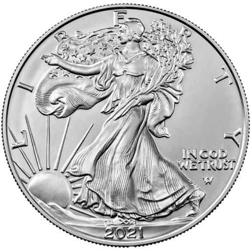 2021 1 oz Type 2 American Silver Eagle Coin