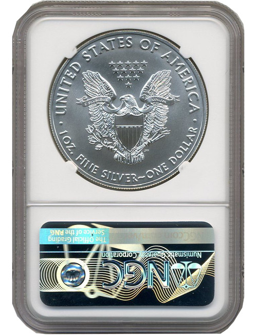 2020-S Silver Eagle Emergency Struck at San Francisco Mint NGC MS70