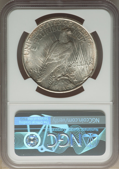 1926-DS$1Peace Dollar NGC MS65