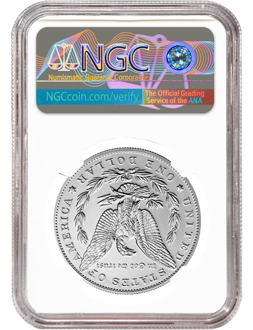 2021 $1 Morgan Dollar First Day of Issue NGC MS70