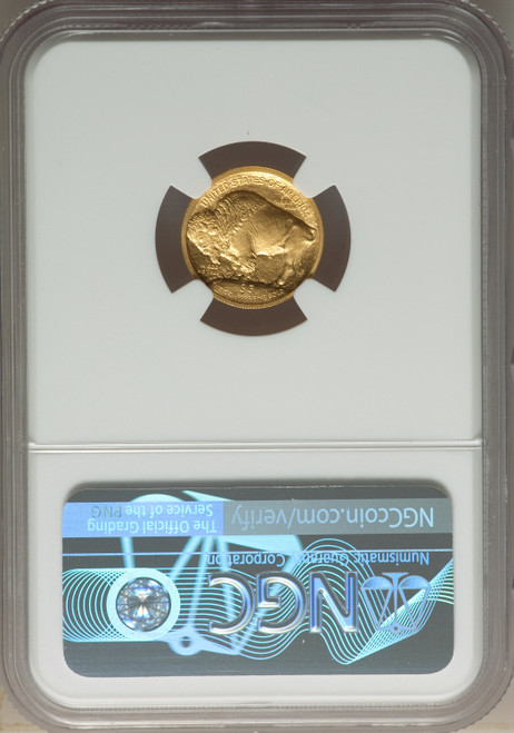 2008-W $5 Tenth-Ounce Gold Buffalo .9999 Fine Gold SP Modern Bullion Coins NGC MS70