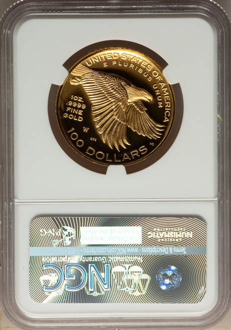 2017-W $100 American Liberty High Relief First Strike Modern Bullion Coins NGC MS70