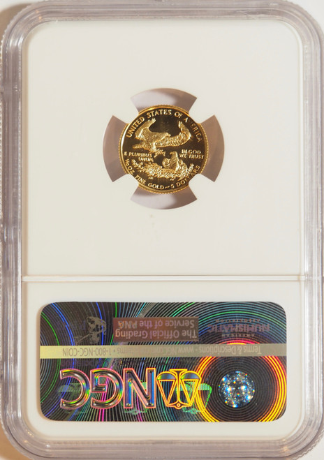 1993 1/10 oz U.S. Mint Proof Gold Eagle NGC PF70 Ultra Cameo
