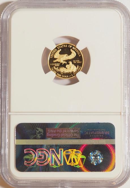 2010 1/10 oz U.S. Mint Proof Gold Eagle NGC PF70 Ultra Cameo