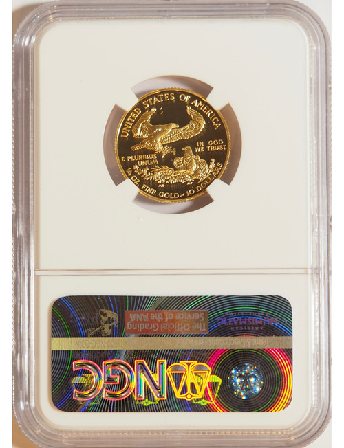 1999 1/4 oz U.S. Mint Proof Gold Eagle NGC PF70 Ultra Cameo