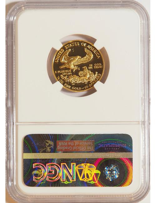 2001 1/4 oz U.S. Mint Proof Gold Eagle NGC PF70 Ultra Cameo