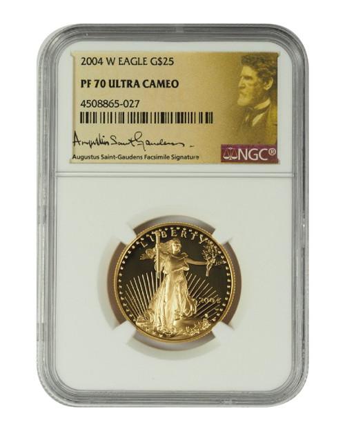 2004 1/2 oz U.S. Mint Proof Gold Eagle NGC PF70 Ultra Cameo