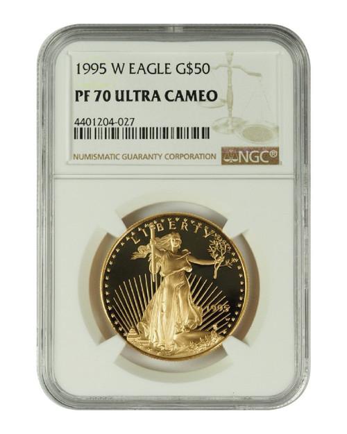 1995 1 oz U.S. Mint Proof Gold Eagle NGC PF70 Ultra Cameo