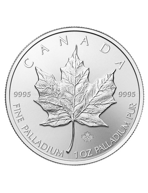 1 oz Canadian Palladium Maple Leaf