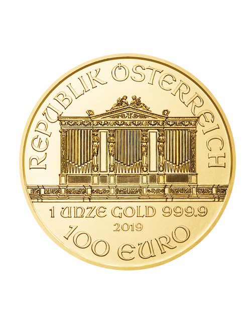 1 oz Austrian Gold Philharmonic Coin