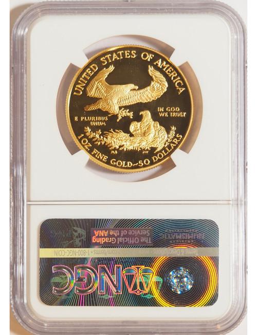 2016 1 oz U.S. Mint Proof Gold Eagle NGC PF70 Ultra Cameo