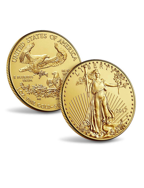 1 oz. American Gold Eagle Random Dates