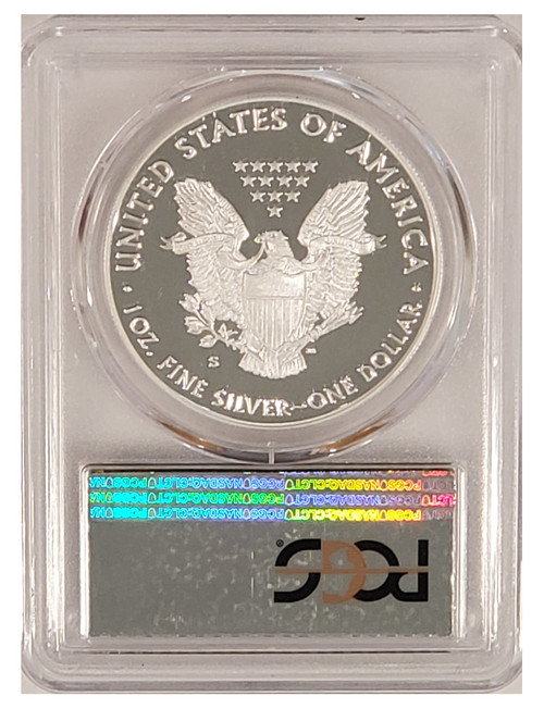 2019-S American Silver Eagle Denver First Day Of Issue PCGS PR70DCAM