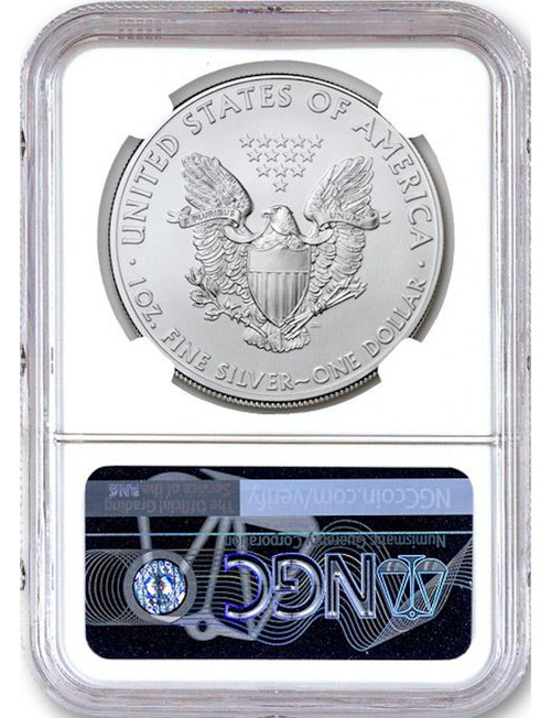 2020 American Silver Eagle NGC MS70 Trump Label