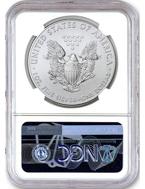 2020 (S) $1 Silver Eagle NGC MS70 Emergency Production 1st Day of Issue