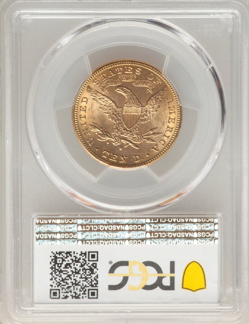 1888-S $10 Gold Liberty Eagle PCGS MS64 Pop - 14/0