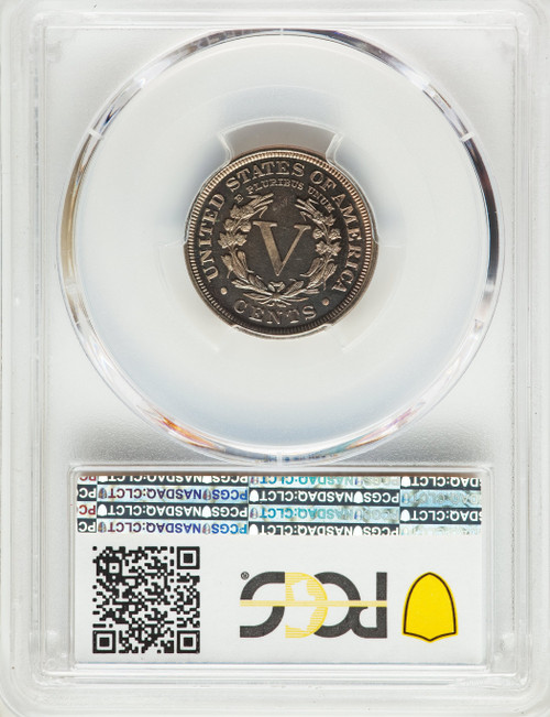 1901 5C CA Proof Liberty Nickel PCGS PR67+ CAC