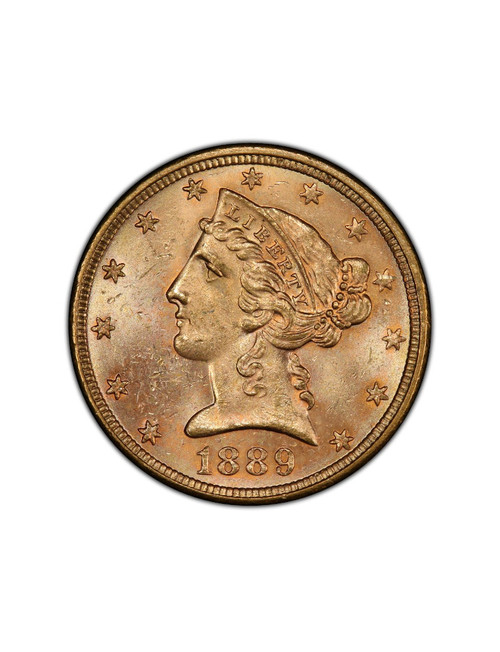 Random Date 1840-1908 Liberty $5 Gold Eagle AU