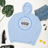 Kindness Wins Fleece Hoodie (Unisex)
