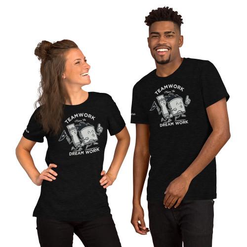 *Sold Out* Nickel Team Work = Dream Work T-Shirt (Unisex)