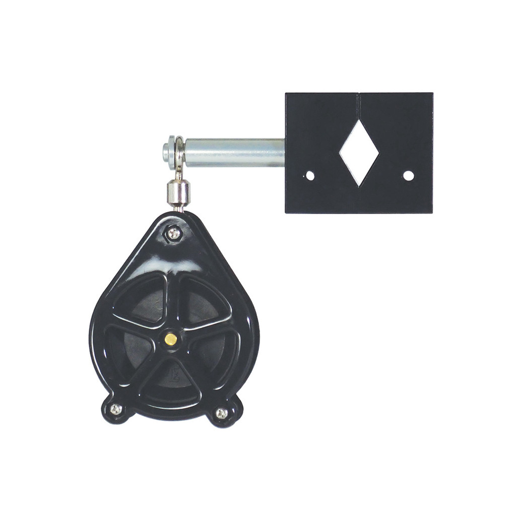 If you want to custom build your own planer system, you're in luck! You can mount Big Jon's  Planer Pulley to any mast, rail or radar arch that is 7/8 inch to 1 1/2 inch outside diameter. Add Big Jon's Planer Reel to complete you planer system .