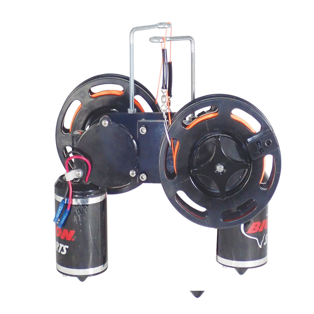 Dual Electric Planer Reel w/ Remote Switches