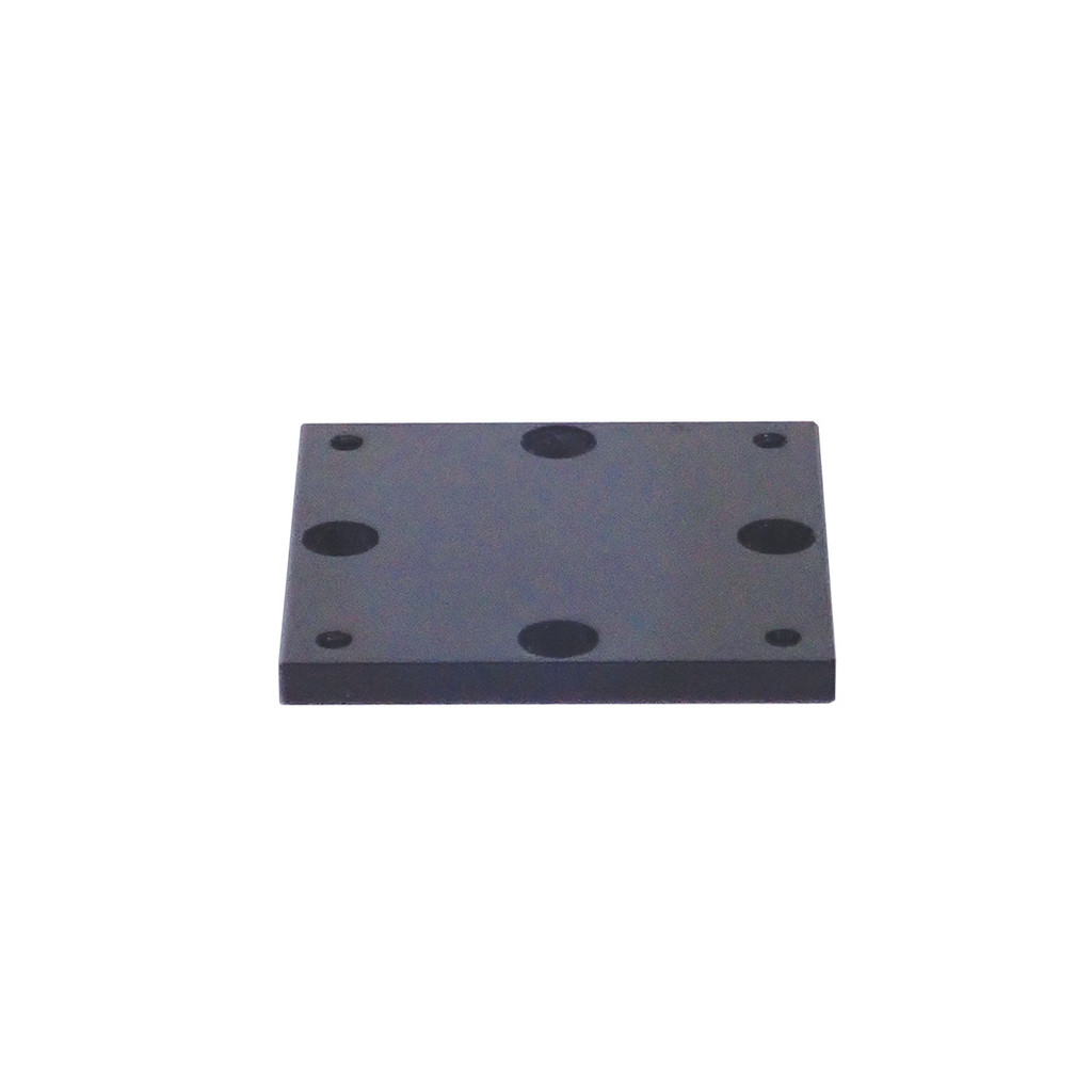 """Mounting Plate - 4"""" x 4"""" w/ 4 Hold Down Knobs"""